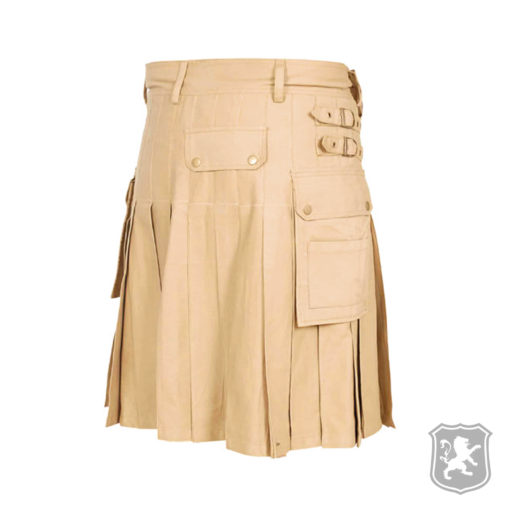 beige utility kilt, beige, utility, kilt, kilts for sale, kilt buy online, kilts buy, buy kilts, utility kilts,