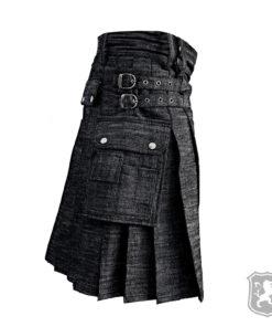 black denim kilt, denim kilt denim kilt for sale, kilt for sale, kilt for sale online, kilt shop, shop kilt, kilt online, kilt for sale, kilt online