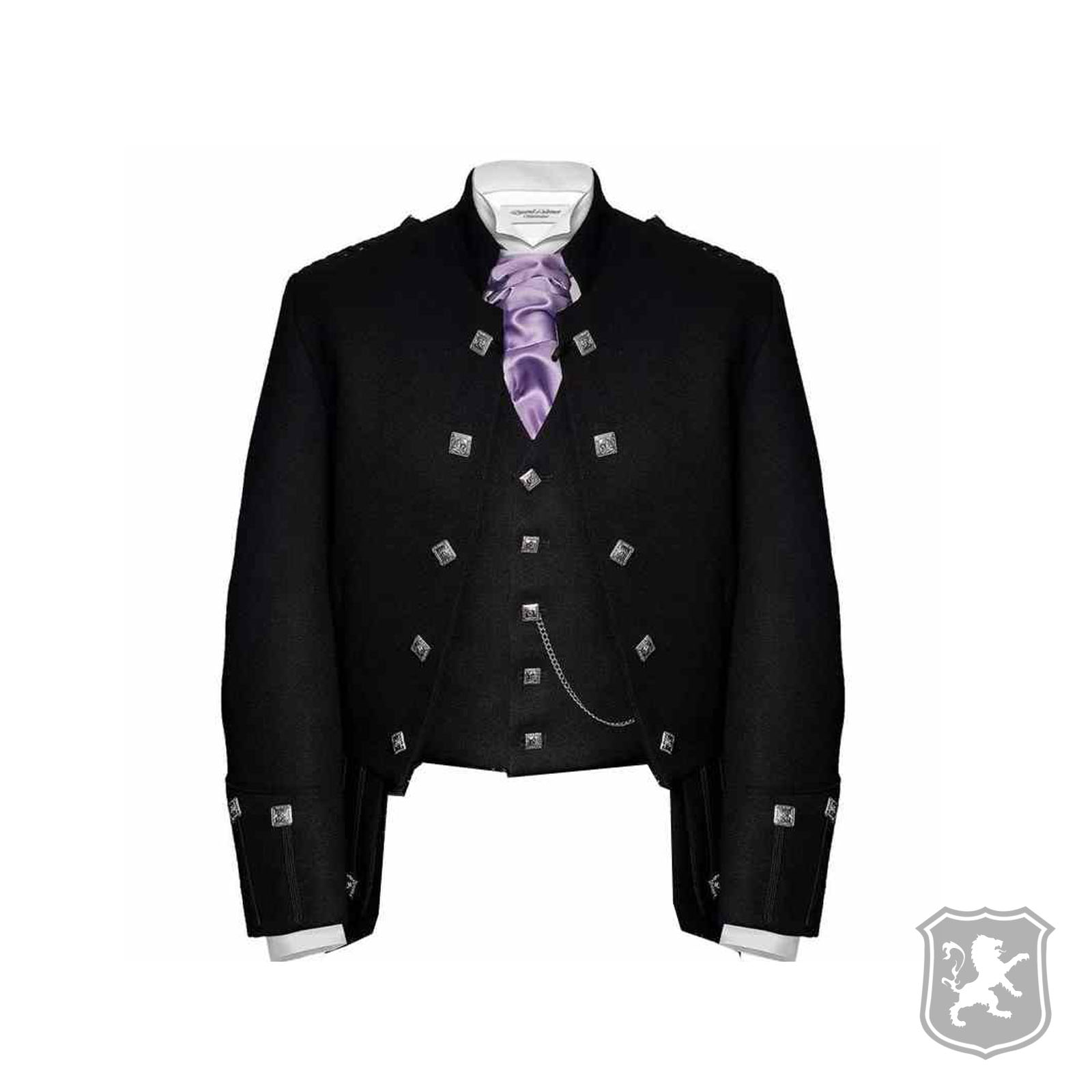 c9636e48403 Black Sheriffmuir Jacket With 5 Buttons Vest