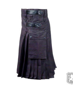 black utility kilt, utility kilt, utility kilts, kilts, kilt, kiltzone, buy kilt online, kilt for sale,
