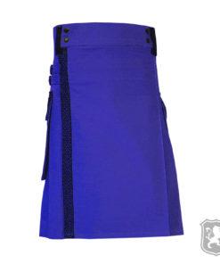 blue utility kilt, utility kilt, utility kilts, kilts, kilt, kiltzone, buy kilt online, kilt for sale,