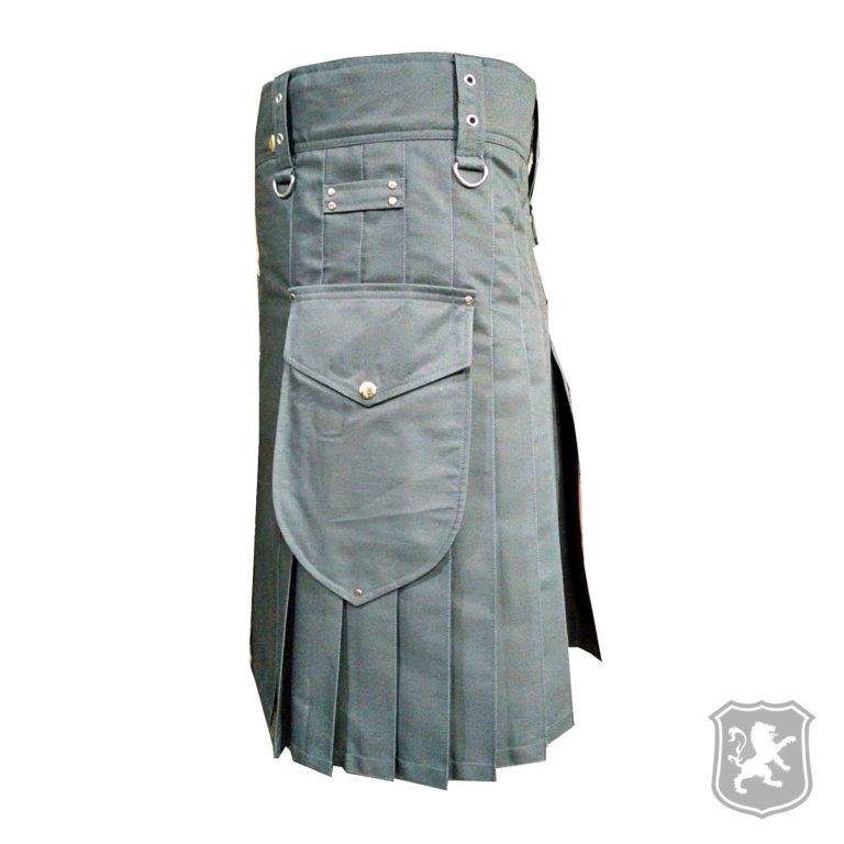 grey utility kilt, utility kilts, kilts, kilt, kilt for sale, buy kilt online, kilt online, kiltzone, shop kilt,
