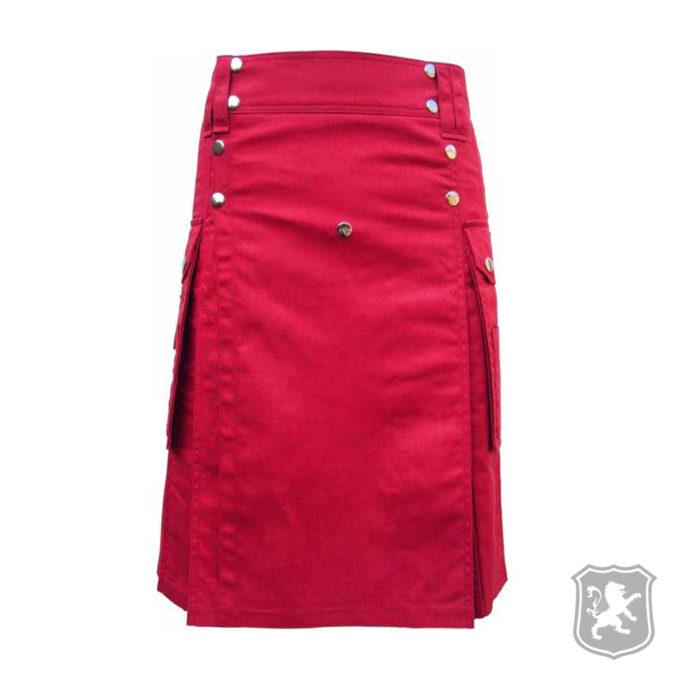 red utility kilt, kilts, kilt, kilt for sale, kilt buy online, utility kilt buy online, buy kilts online, kilt shop, shop kilts online, shop kilt, kiltzone, kiltzone shop,