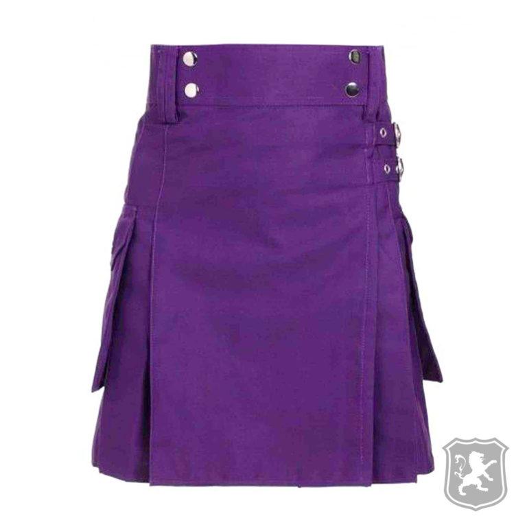 scottish highland purple, highland kilt, utility kilt, utility kilts, kilts, kilt, purple utility kilt, kilt for sale, kilt online, shop kilt online,