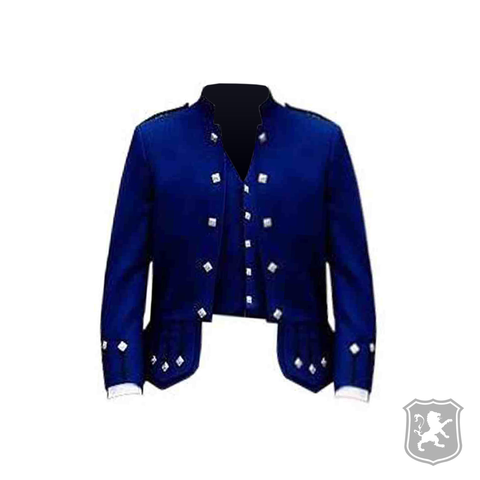 Sheriffmuir Navy Blue Jacket With 5 Buttons Vest