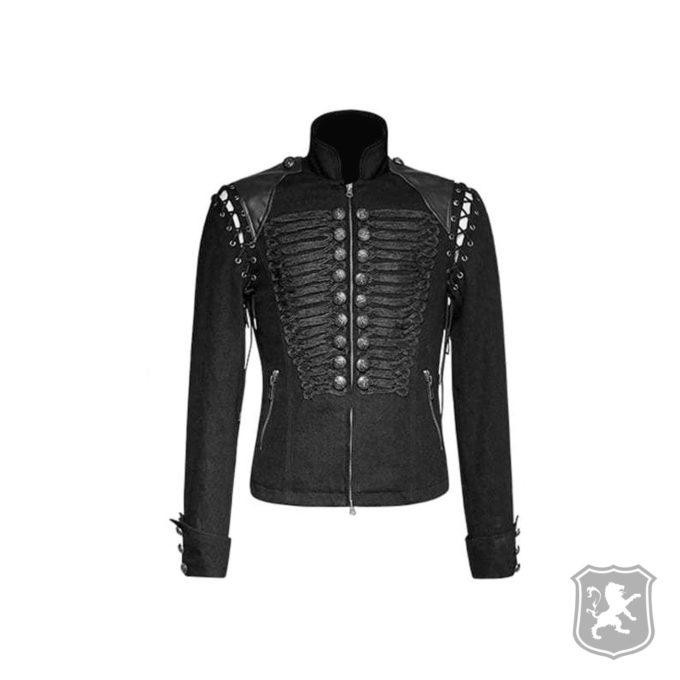 Black braided gothic military Jacket, gothic jackets, goth, gothic, goth jacket, goth jackets, goth jackets buy online, shop gothic jackets, shop goth, shop goth jackets, goth jackets for sale, goth sale, goth jackets online,