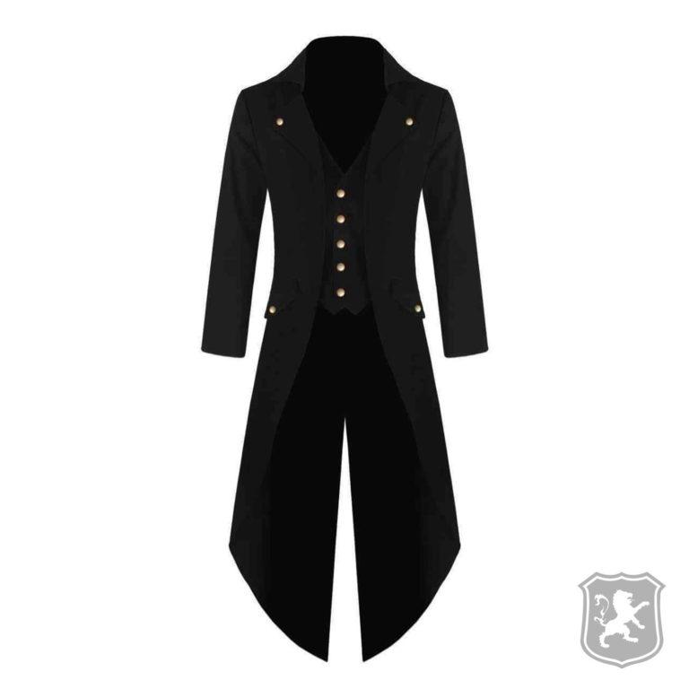 Black Handmade Steampunk Tailcoat Jacket, gothic jackets, goth, gothic, goth jacket, goth jackets, goth jackets buy online, shop gothic jackets, shop goth, shop goth jackets, goth jackets for sale, goth sale, goth jackets online,