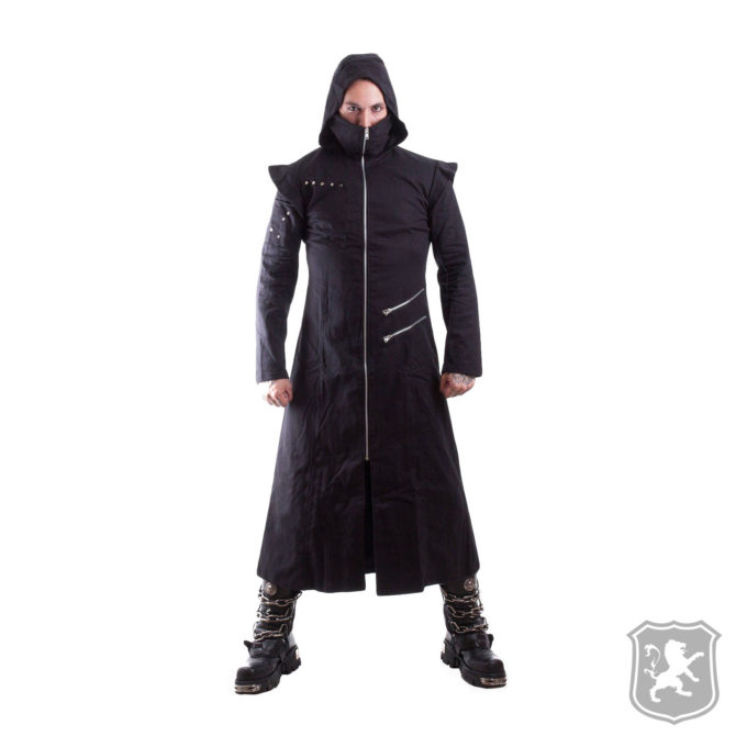 Black Hooded Trench Coat, gothic jackets, goth, gothic, goth jacket, goth jackets, goth jackets buy online, shop gothic jackets, shop goth, shop goth jackets, goth jackets for sale, goth sale, goth jackets online,
