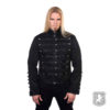 Black Military Drummer Parade Jacket, gothic jackets, goth, gothic, goth jacket, goth jackets, goth jackets buy online, shop gothic jackets, shop goth, shop goth jackets, goth jackets for sale, goth sale, goth jackets online,
