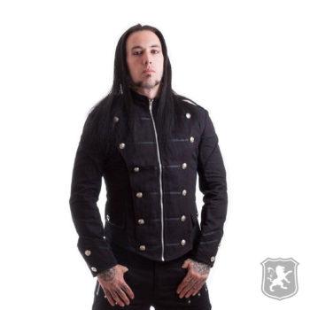 Black Military Goth Punk Style Jacket, gothic jackets, goth, gothic, goth jacket, goth jackets, goth jackets buy online, shop gothic jackets, shop goth, shop goth jackets, goth jackets for sale, goth sale, goth jackets online,