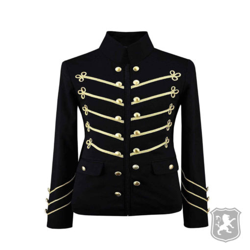 Black Military Jacket With Gold Embroidery, gothic jackets, goth, gothic, goth jacket, goth jackets, goth jackets buy online, shop gothic jackets, shop goth, shop goth jackets, goth jackets for sale, goth sale, goth jackets online,