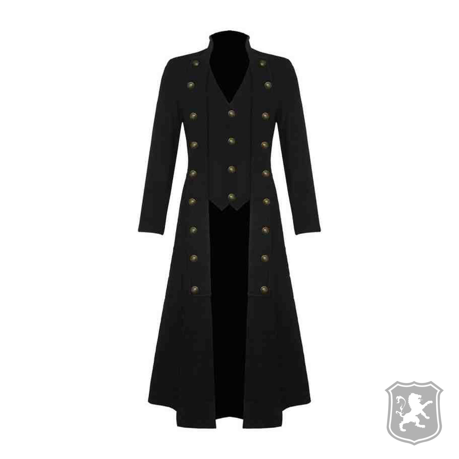 Fashion style Steampunk Mens trench coat for woman