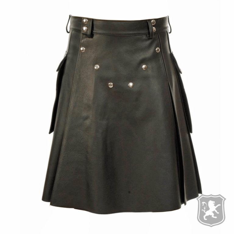 black studded leather kilt, leather kilt, black leather kilt, leather, kilt, mens kilt, mens leather kilt, men kilt,
