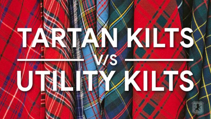 tartan vs utility, difference, tartan, utility, kilt, kilts, kilt blog,