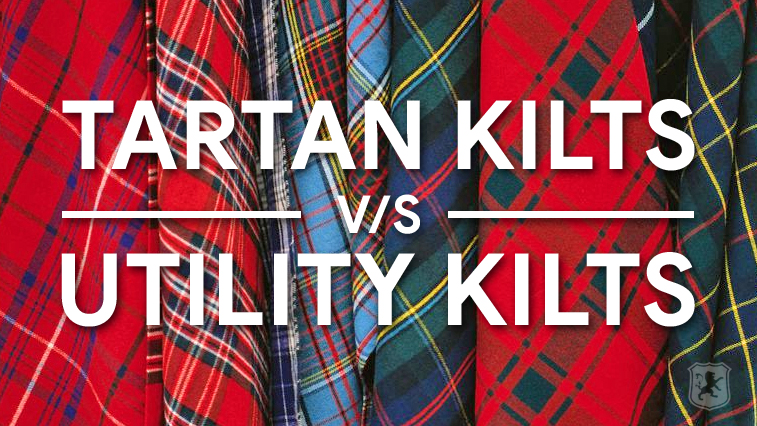 tartan vs utility, difference, tartan, utility, kilt, kilts, kilt blog,