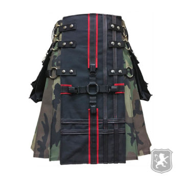 interchangeable gothic camouflage kilt, camouflage kilts, camouflage, kilts, kilt, kilt for men, kilts for sale, buy kilts online, buy camouflage kilts online,