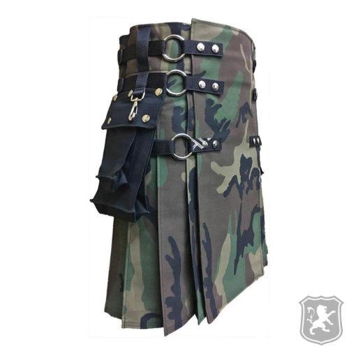 woodland camouflage kilt, camouflage kilts, camouflage, kilts, kilt, kilt for men, kilts for sale, buy kilts online, buy camouflage kilts online,