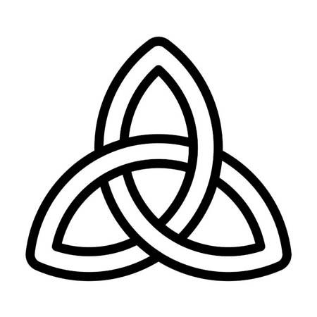 trinity knot symbol